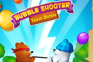 Bubble Shooter: Team Battle