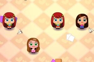 Girl's Dash Puzzle
