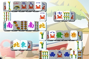 Happy Summer Mahjong