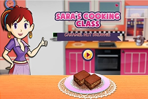 Sara's Cooking Class: Caramel Nut Brownie