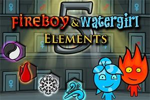Fireboy & Watergirl 5 Elements